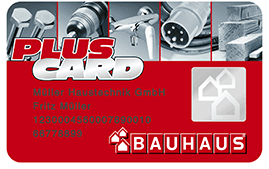 bauhaus plus card